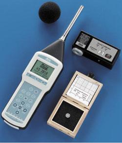 Fonometro per acustica in edilizia