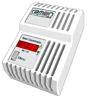Radon Control Monitor