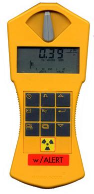 Rivelatore di radiazioni per la radioattività in ambiente di lavoro