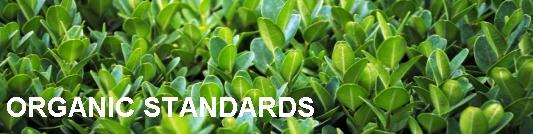 Organic standards