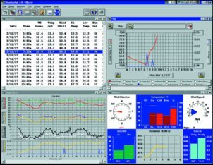 immagine SOFTWARE WEATHERLINK PER VANTAGE PRO2 PER WINDOWS