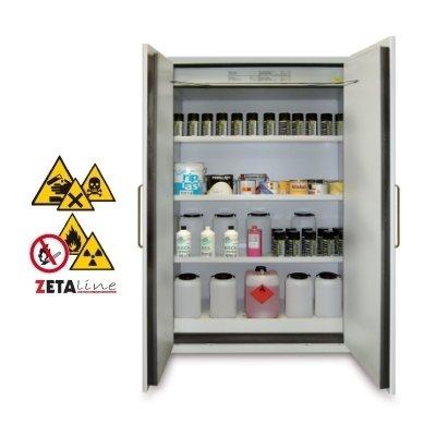 armadio di sicurezza per infiammabili 2 porte – zetalab