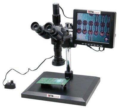 immagine MICROSCOPIO PER ISPEZIONE 0,7X4,5 MONITOR LCD